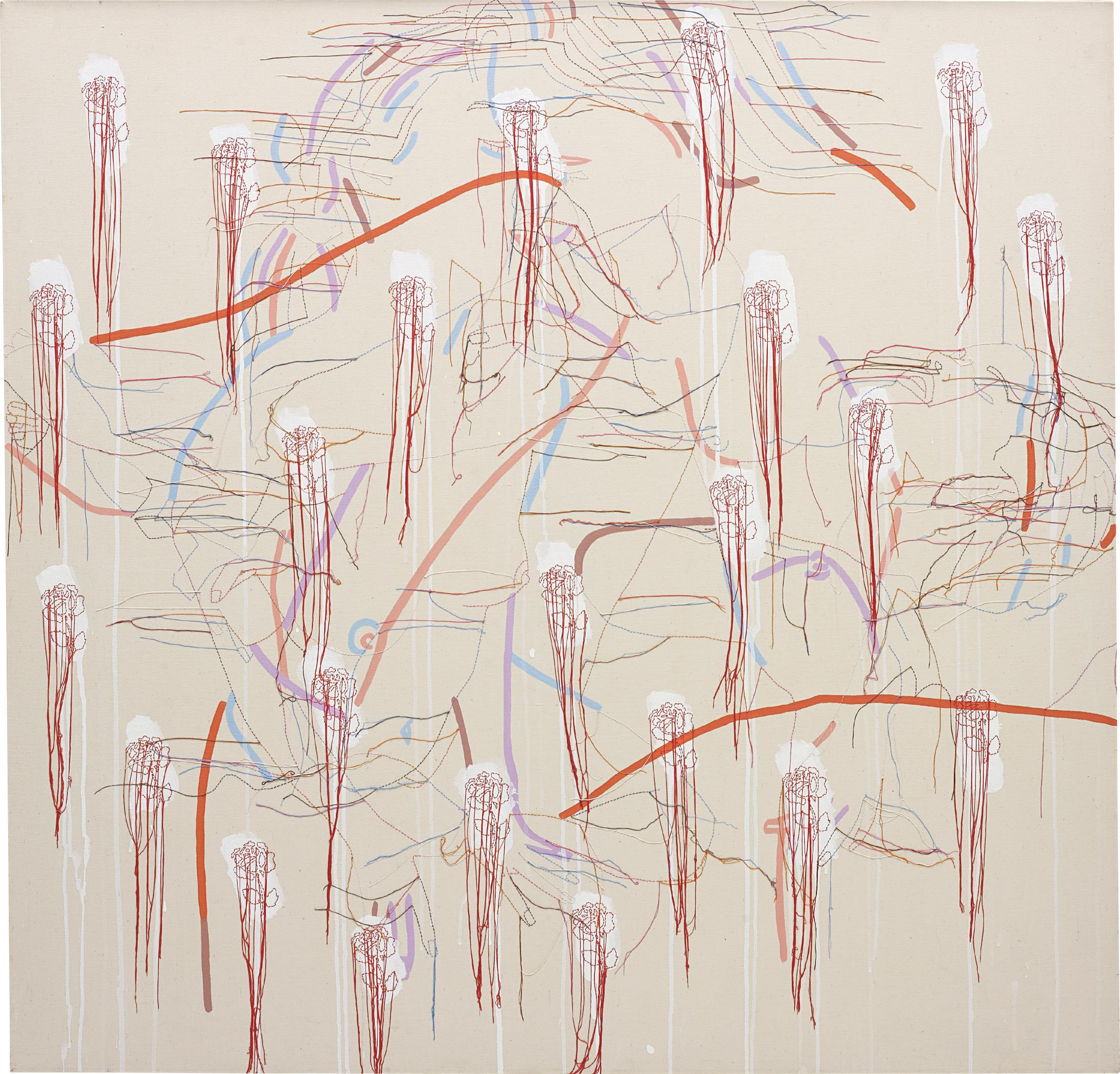 Ghada Amer-A Kiss From Alison-2002