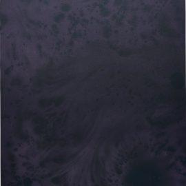 Sayre Gomez-Untitled Painting In Purple On Purple-2014