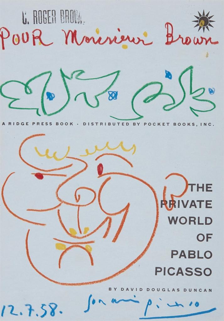 Pablo Picasso-Tete d'homme-1958