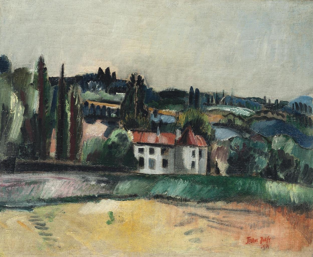 Jean Dufy-Paysage du Limousin-1921