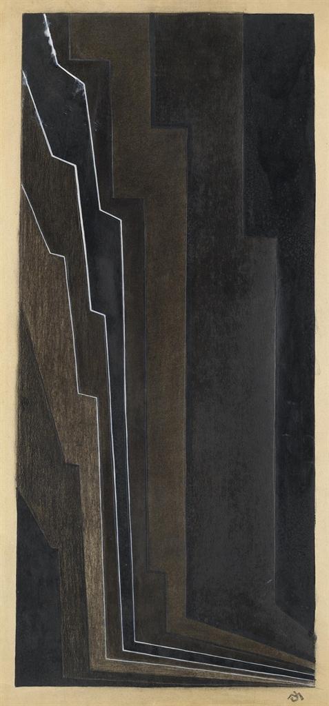 Felix Del Marle-Finale (studio per Musicalisme)-1925