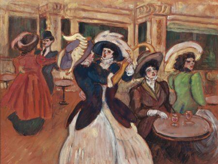 Ludovic-Rodo Pissarro-Au Moulin Rouge-