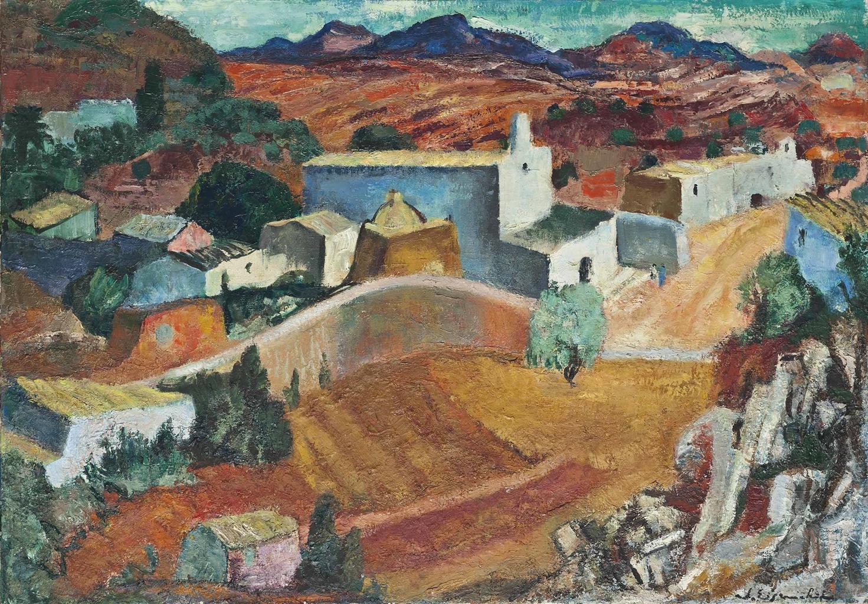 Willy Eisenschitz-Village, San Jose, Ibiza-