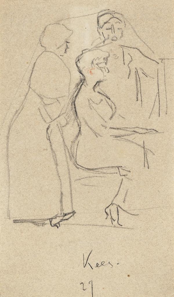 Kees van Dongen-La lecon de piano-1927