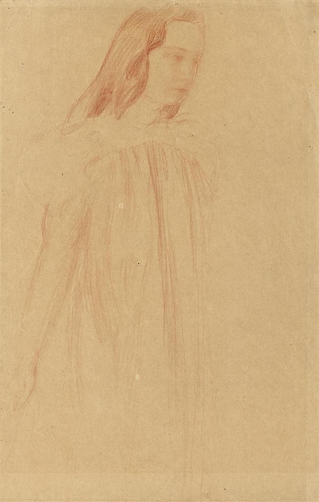 Maurice Denis-Etude de jeune fille-1900