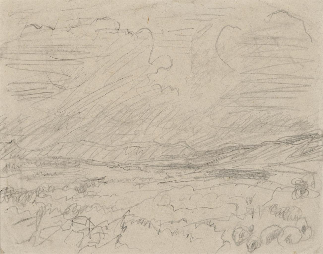 Pierre Bonnard-Paysage maritime-