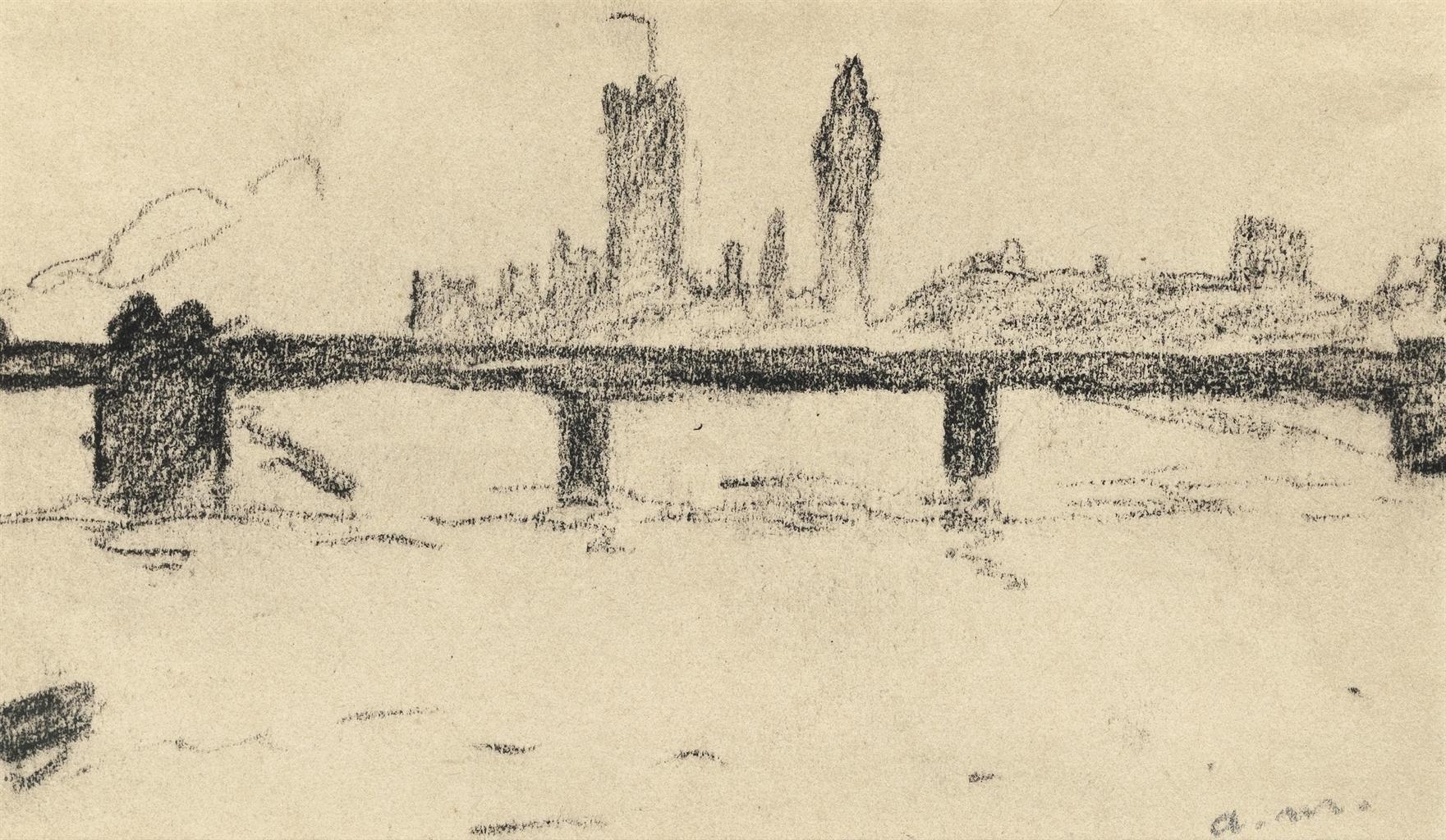 Albert Marquet-View of London-1906