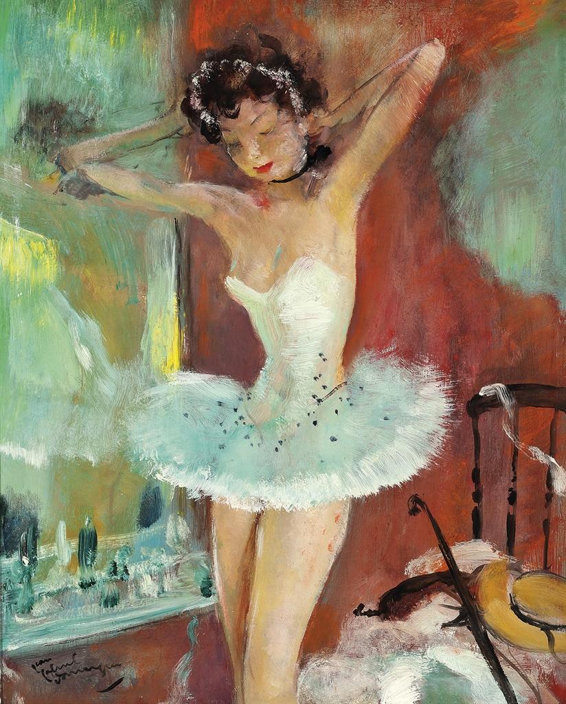 Jean-Gabriel Domergue-Zina danseuse-