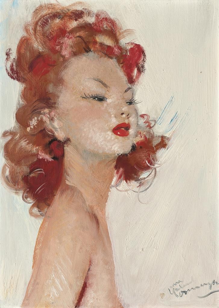 Jean-Gabriel Domergue-Miss Mable-1946
