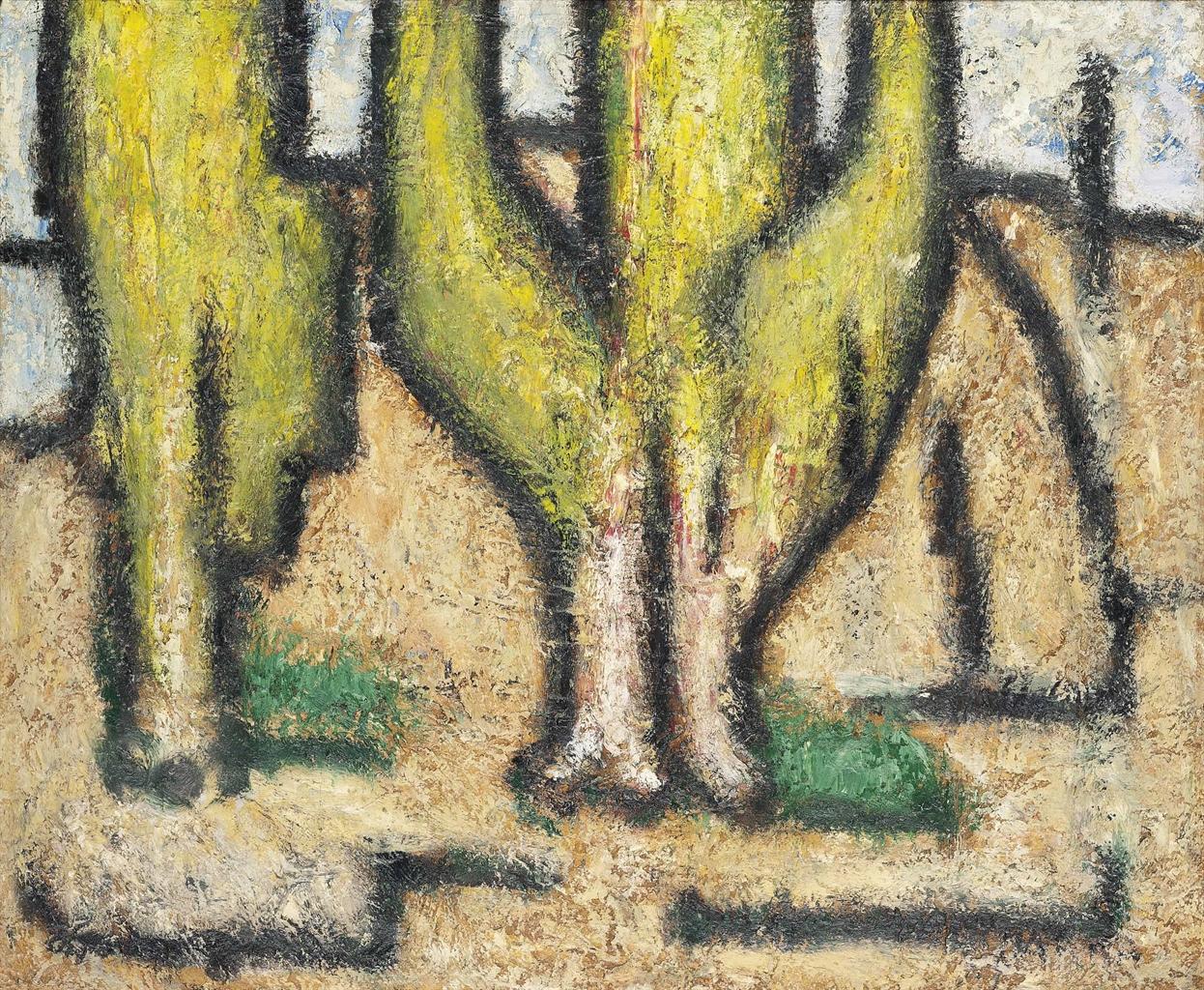 Gines Parra-Paisaje de un desierto-1951