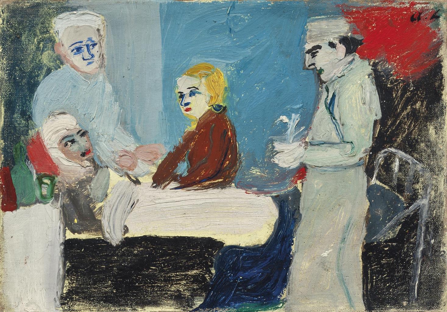 Andre Lanskoy-La malade-1931