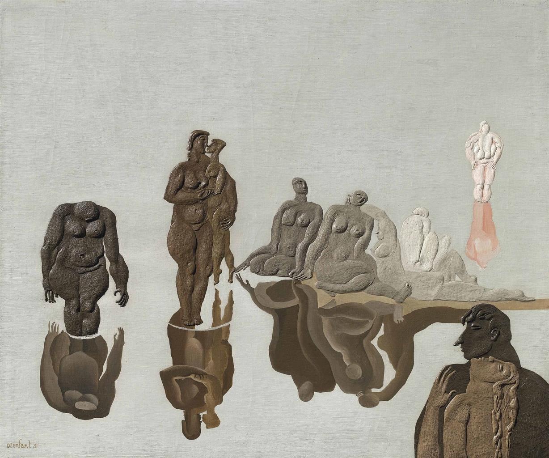 Amedee Ozenfant-Baigneuses au promontoire-1931