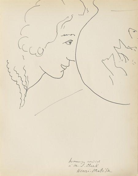 Henri Matisse-Profil de femme-1929