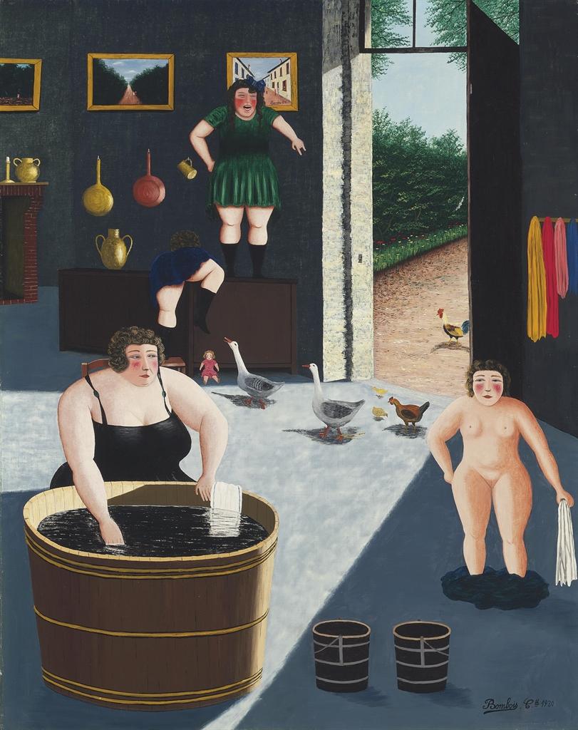 Camille Bombois-Preparation pour le bain-1930