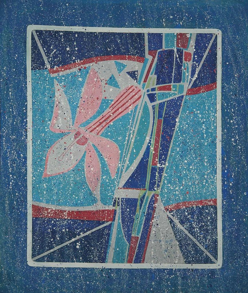 Francoise Gilot-The Pink Cactus-1983