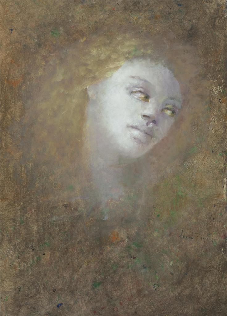 Leonor Fini-Visage de femme-1970