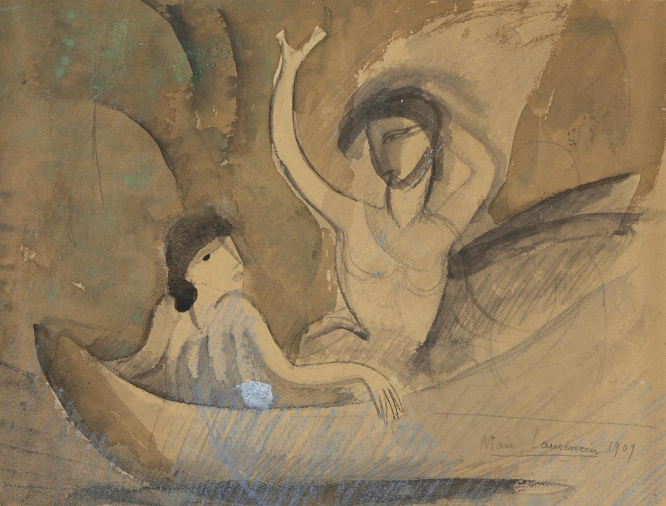 Marie Laurencin-La barque-1909