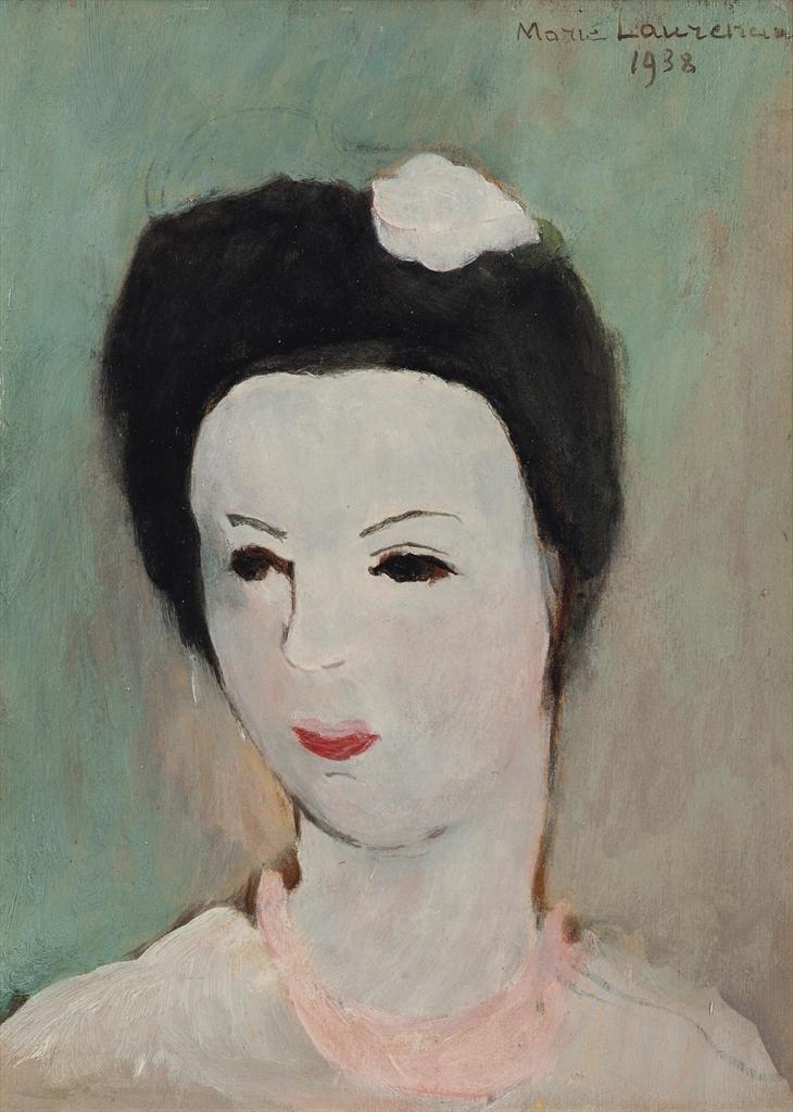 Marie Laurencin-Marcelle Auclair-1938