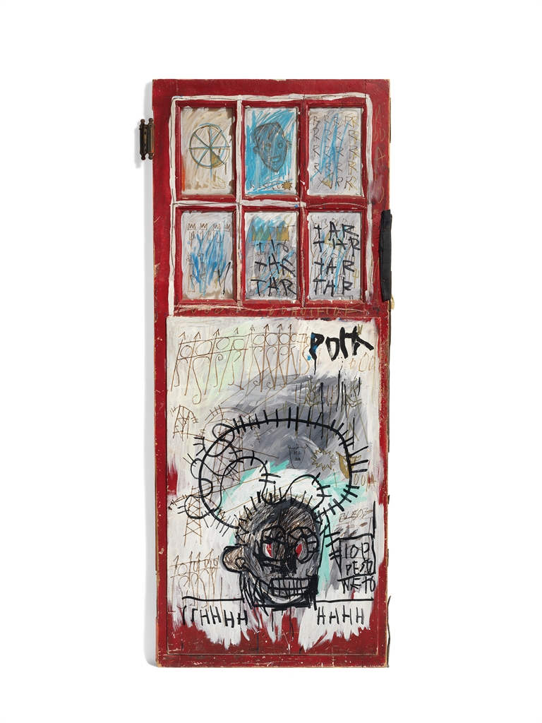 Jean-Michel Basquiat-Pork-1981