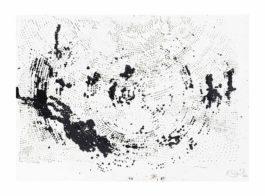 Otto Piene-Untitled (Rasterbild)-1982