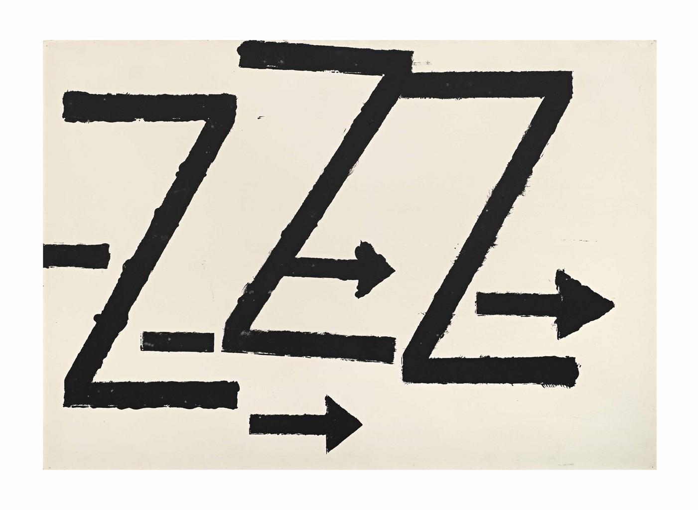 Jannis Kounellis-Untitled-1960