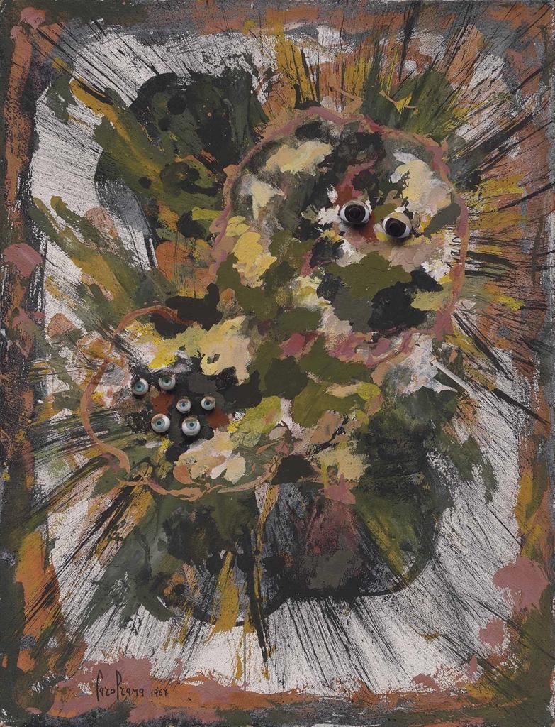 Carol Rama-Bricolage-1967