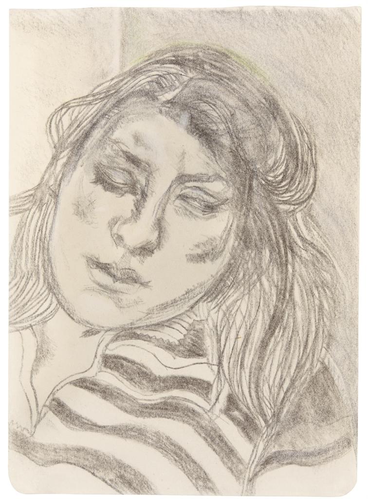Lucian Freud-Portrait of Ib-1979