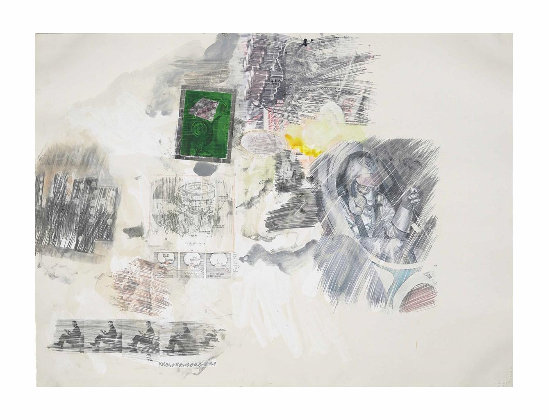 Robert Rauschenberg-Untitled-1968