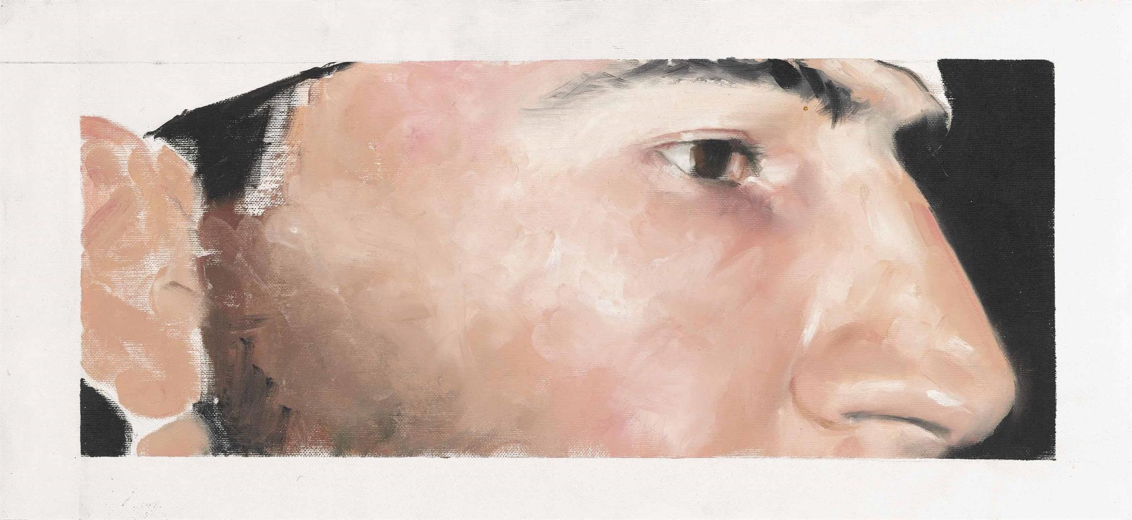 Adrian Ghenie-Untitled (Self Portrait)-2007