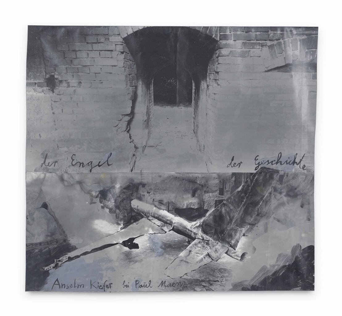 Anselm Kiefer-Der Engel der Geschichte (The Angel of History)-1989