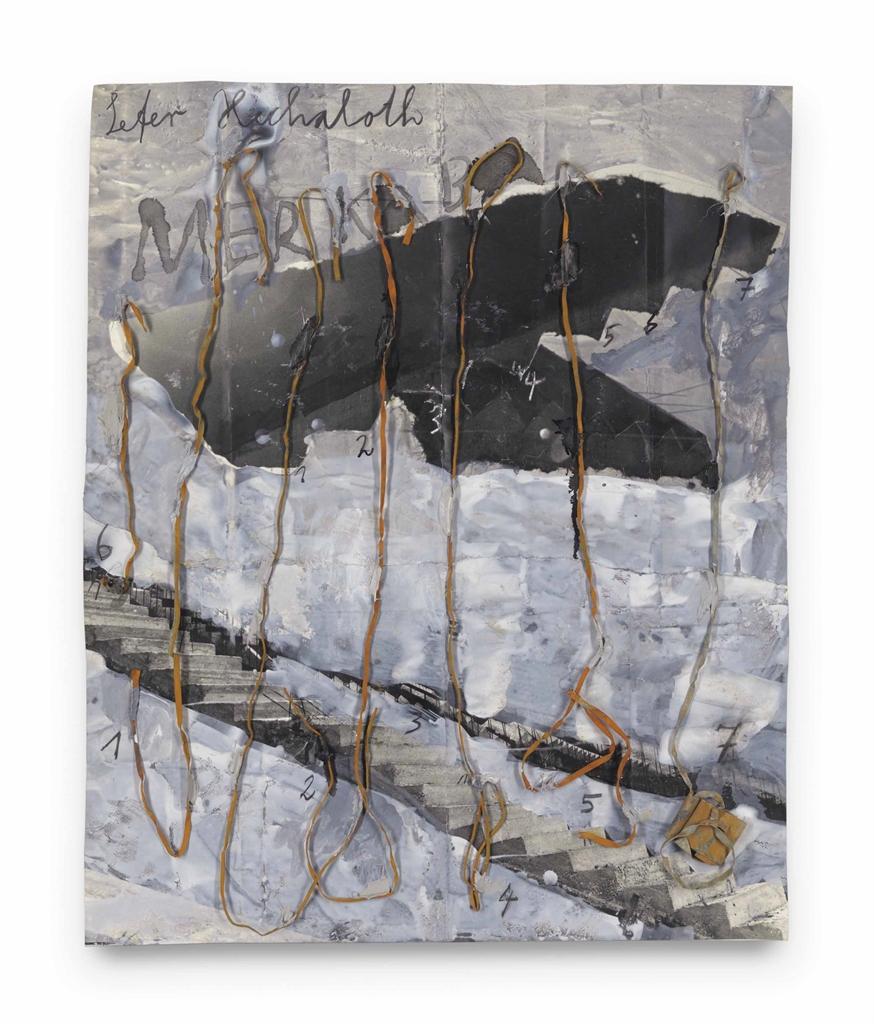 Anselm Kiefer-Sefer Hechaloth-Merkaba-2003