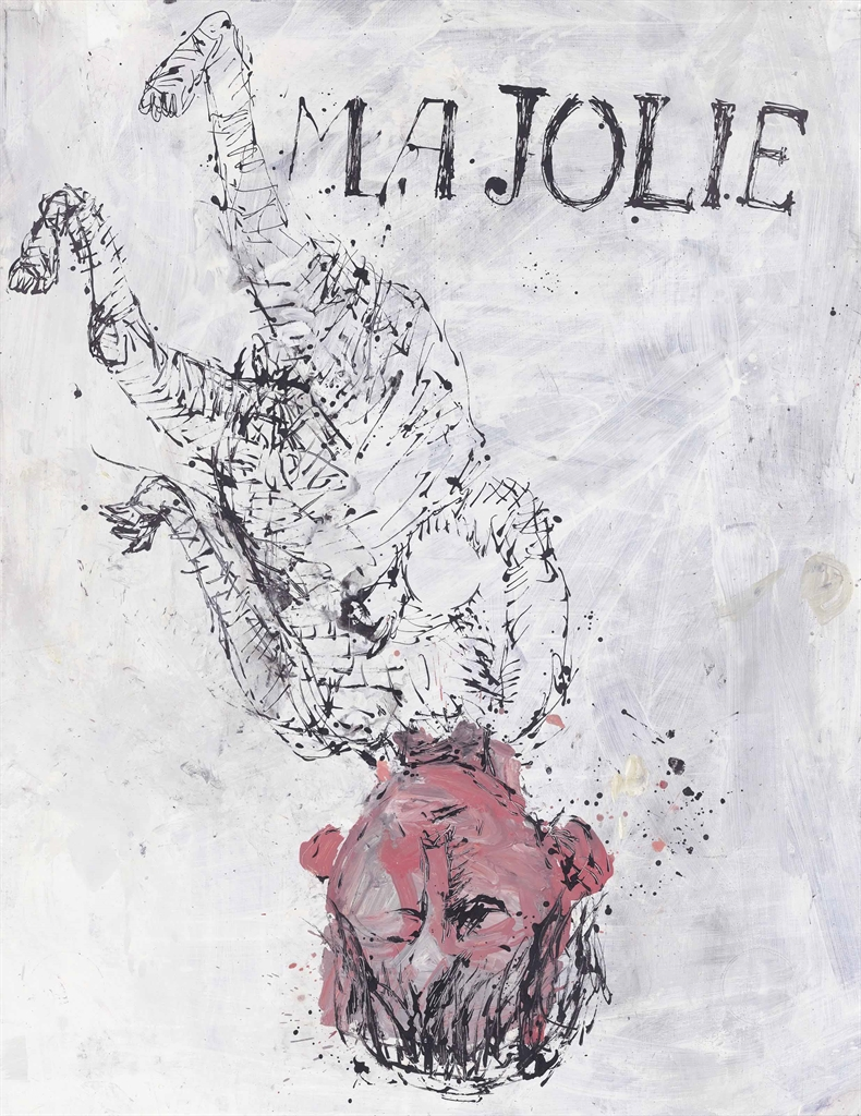 Georg Baselitz-Ma Jolie II (My Beauty II)-2000