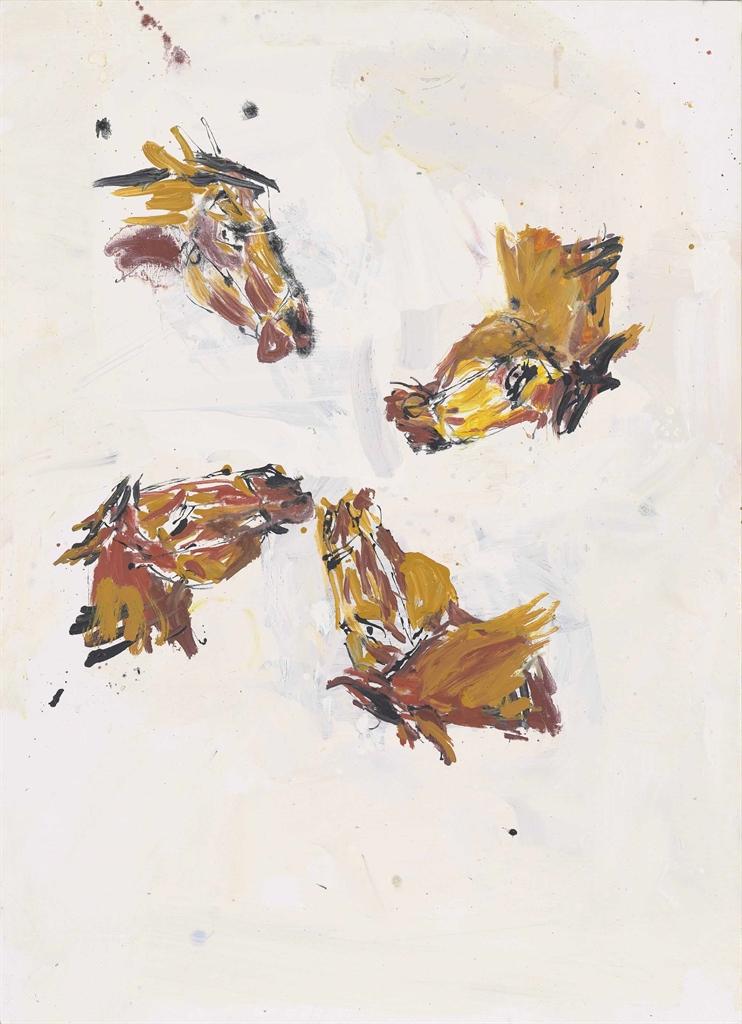 Georg Baselitz-Mal Vier (Times Four)-2003