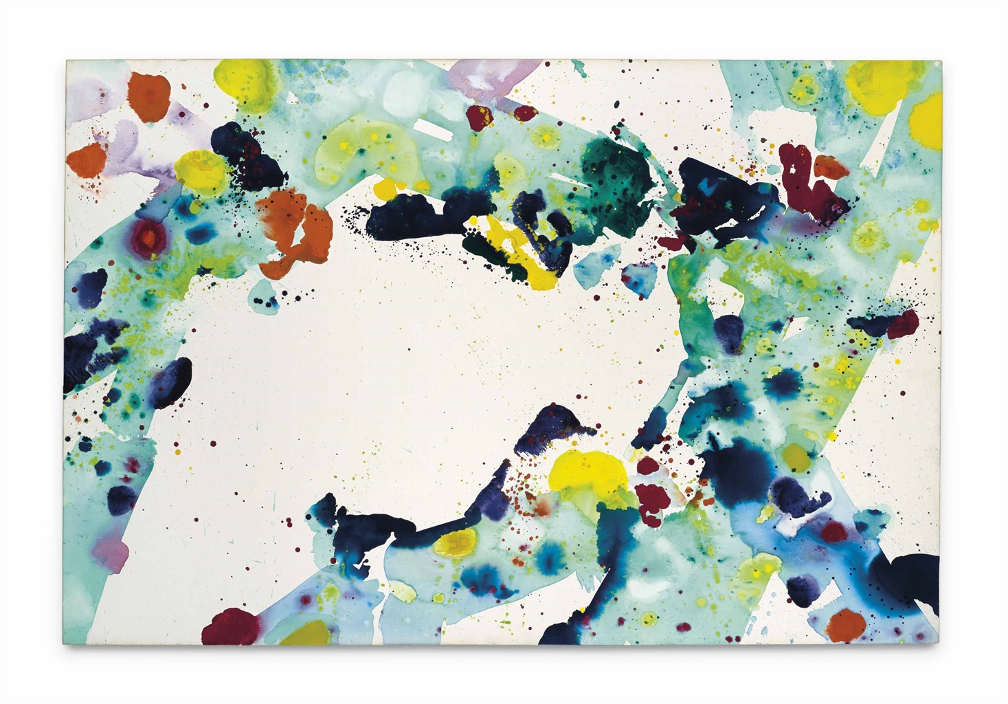 Sam Francis-Untitled No. 5-1973