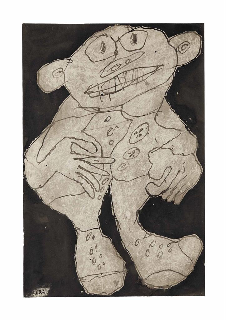 Jean Dubuffet-Allegre (Cheerful)-1961