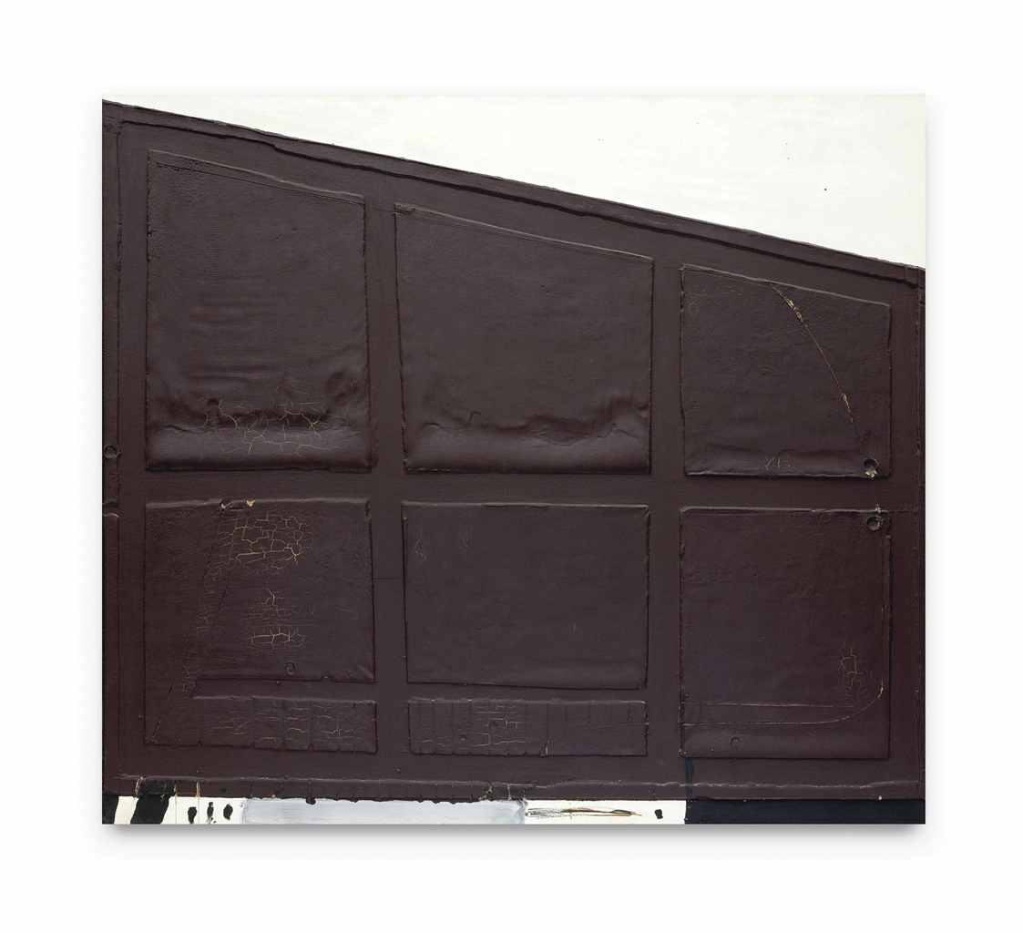 Antoni Tapies-Form of Slanting Cupboard-1968