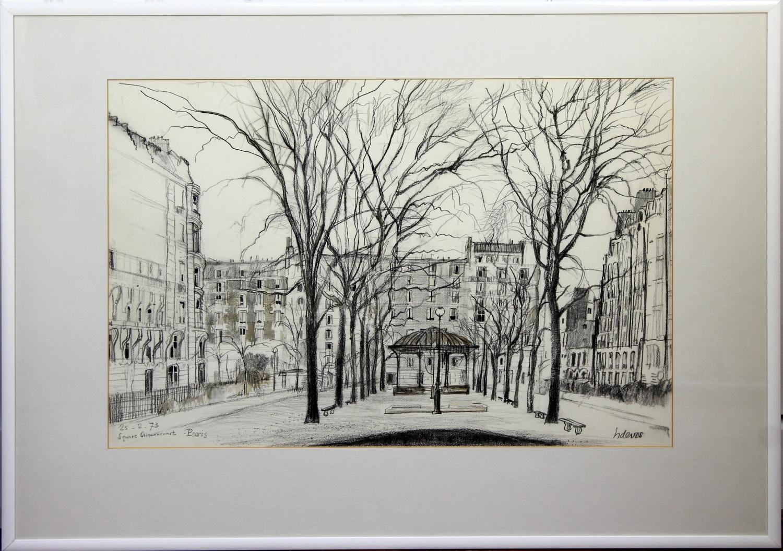 Henk de Vos-Square Clignancourt-1973