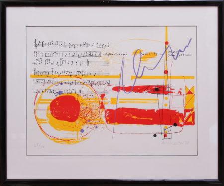 Sam Middleton-Ornette Coleman, John Coltrane and Charles Mingus-1979