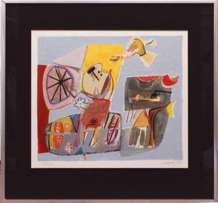 Corneille-Jeux d'enfants and Untitled-1987