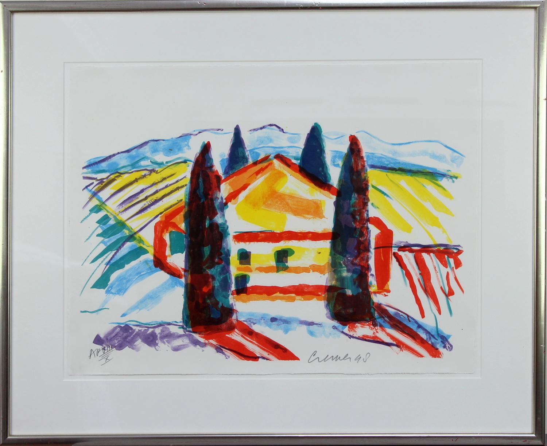 Jan Cremer-Tuscan landscape-1998