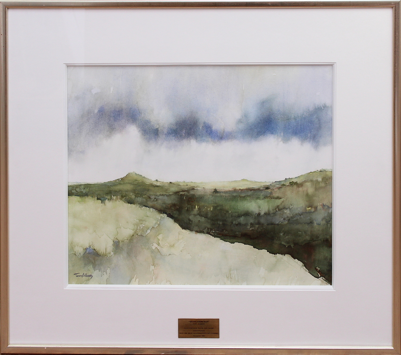 Ton Albers-Dune landscape after rain-1998