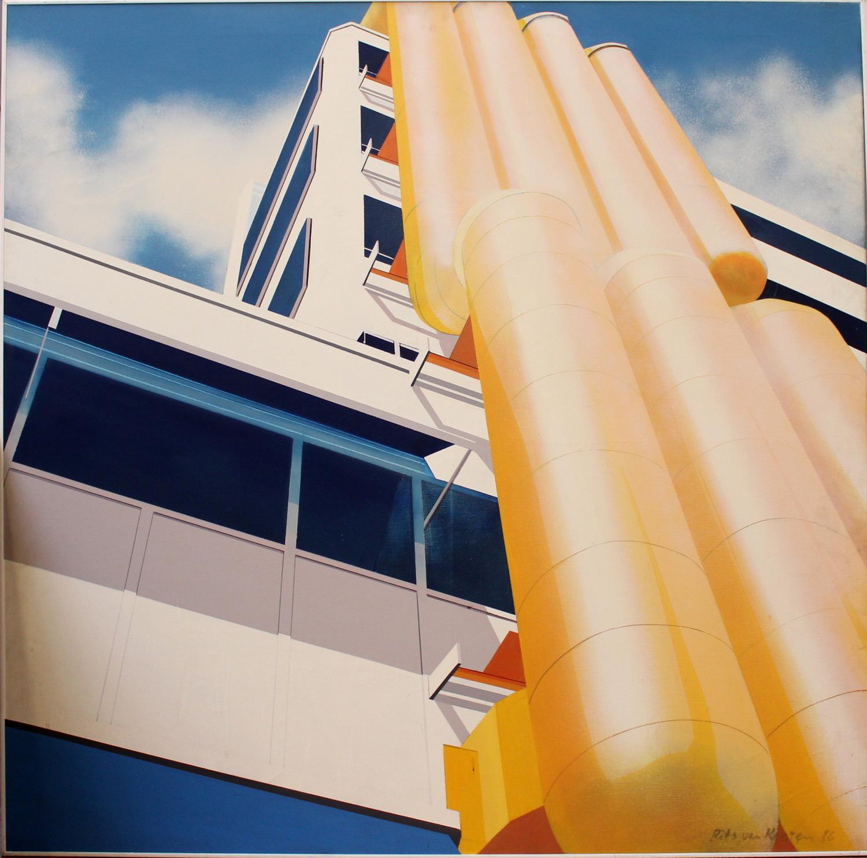 Rits van Kooten-Library Rotterdam-1986