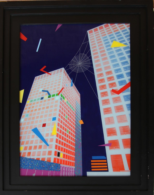 Kunst & Vaarwerk-Spider, Europoint Rotterdam-1986