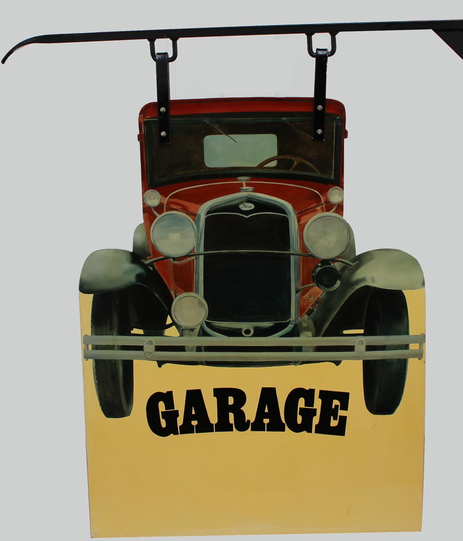 Araun Gordijn-Garage-