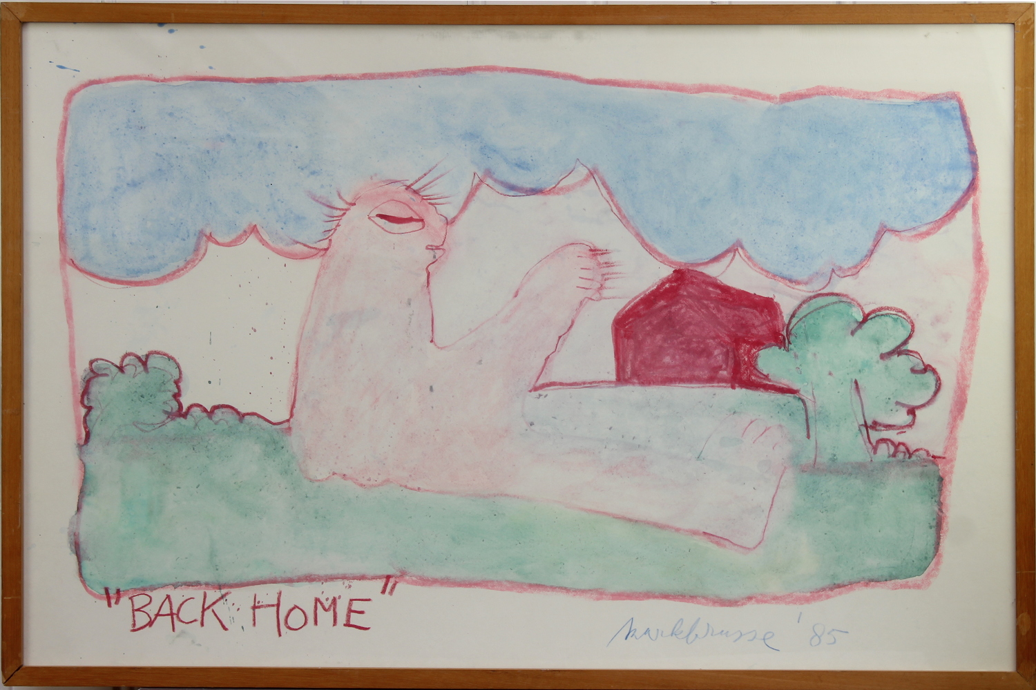 Mark Brusse-Back Home-1985