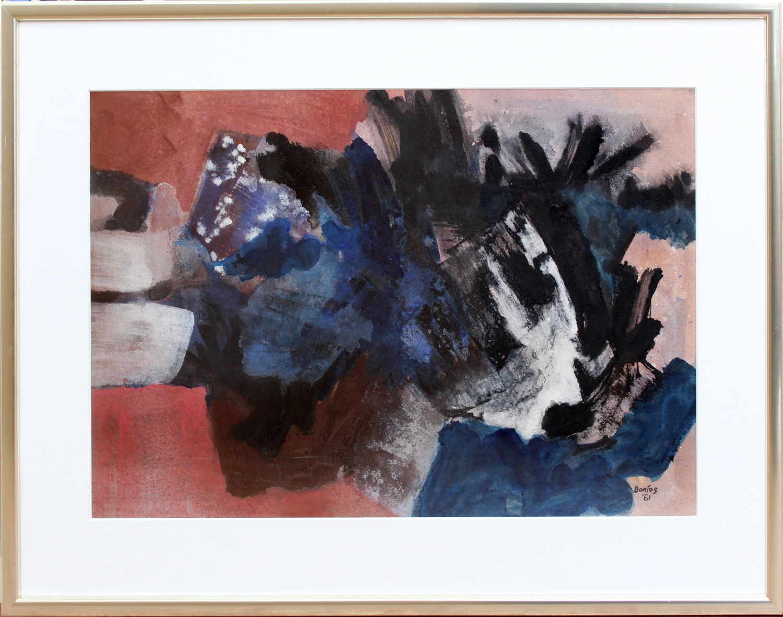 Bob Bonies-Abstract composition-1961