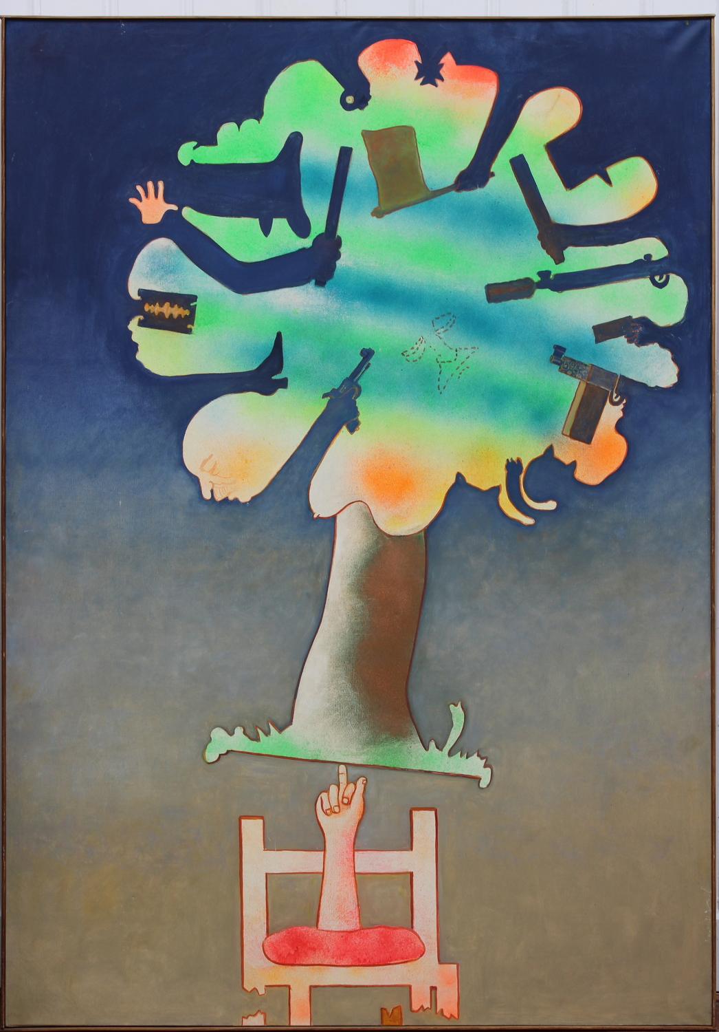Hugh Weiss-Dernier arbre - The last tree-1971