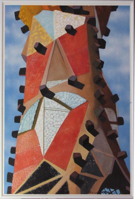 Rits van Kooten-Sagrada Familia, Barcelona-1987