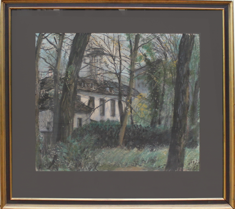 Paul Citroen-Old house among trees-