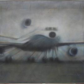 Maurice Phillips-Aeroplane Descending Runway II-1977